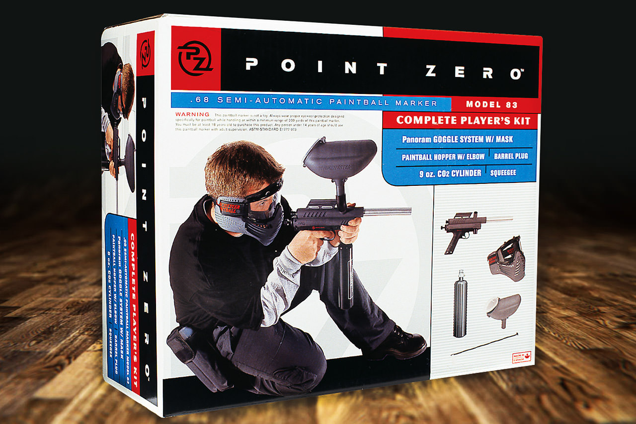 Clean Design for Paintball Gun Box