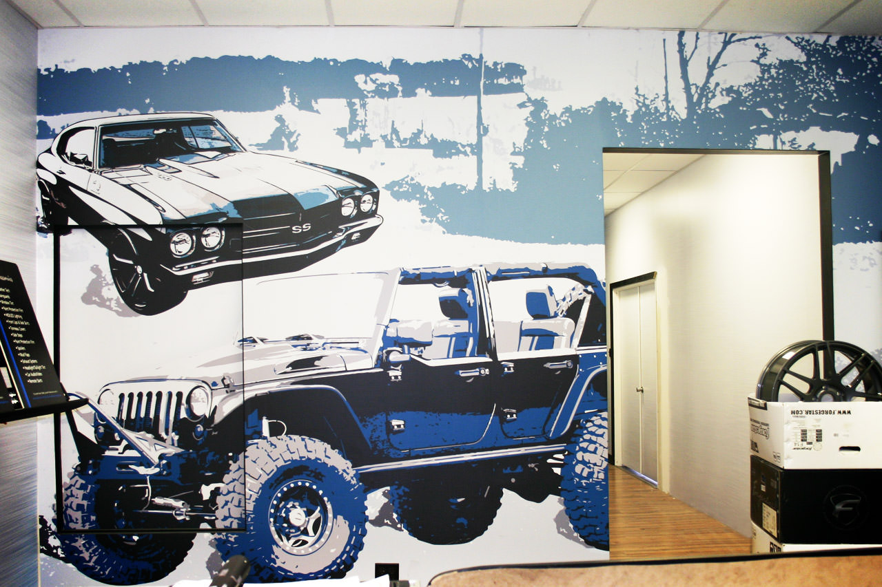 Interior Show Wall Graphic